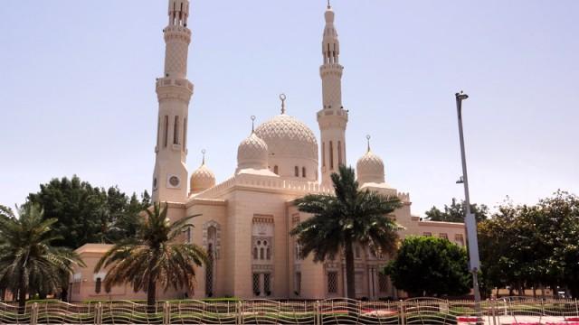 Mesquita de Jumeirah, City Tour em Dubai (Foto: Esse Mundo É Nosso)