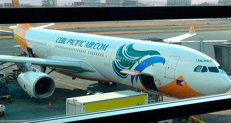 Como é voar Cebu Pacific Air, uma low-cost das Filipinas