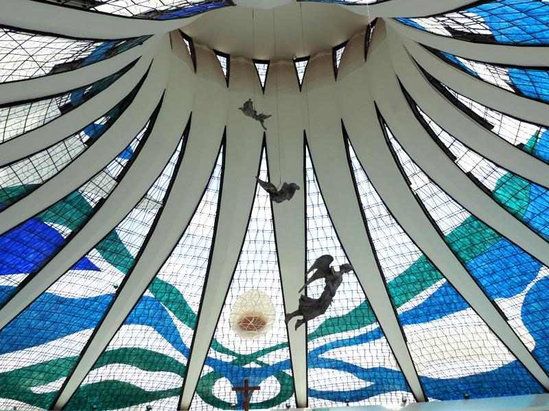 O que fazer em Brasília - Catedral Metropolitana (Foto: Esse Mundo É Nosso)