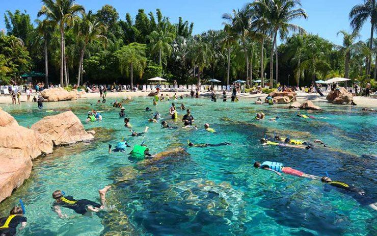 Discovery Cove em Orlando (Foto: Esse Mundo é Nosso)