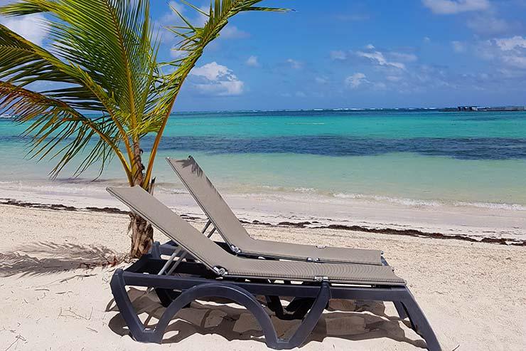 Playa Bávaro em Punta Cana, República Dominicana